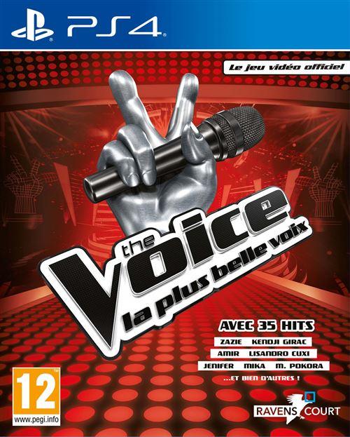 The Voice La plus belle voix Le jeu vidéo officiel 2019 PS4
