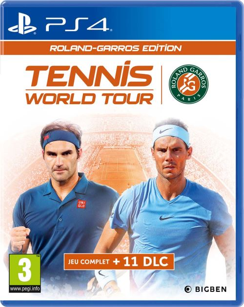 Tennis World Tour Roland Garros Edition Complete PS4