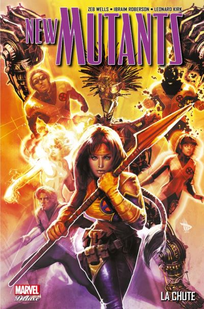 New Mutant T02 - La chute - 9782809483000 - 21,99 €