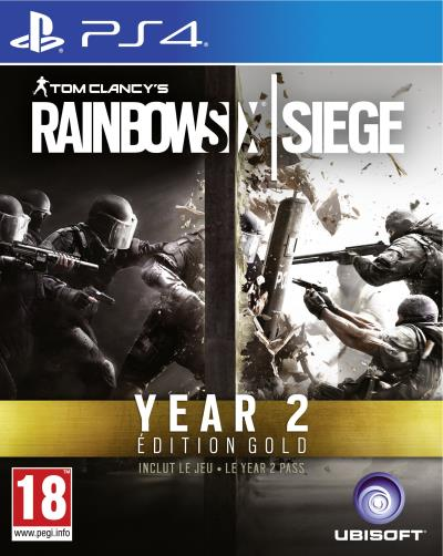 Tom Clancys Rainbow Six Siege: Year 2 Edition Gold PS4