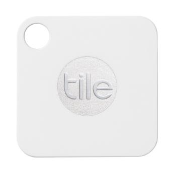 TILE MATE TRACKER KEYRING WHITE