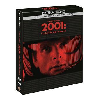 2001 L'Odyssée de l'espace Blu-ray 4K Ultra HD