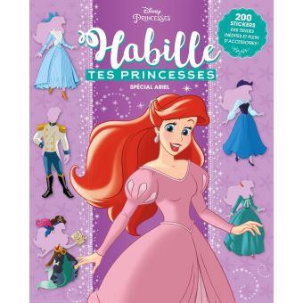 La Petite SirèneHabille tes princesses Les Princesses font la fête