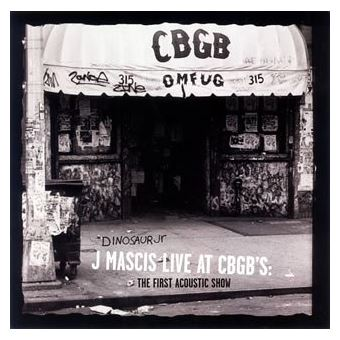 Live at CBGB's first acoustic show