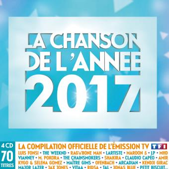 chanson de l annee 2017 multipack 4 cd cd album en luis fonsi jax jones tous les disques. Black Bedroom Furniture Sets. Home Design Ideas