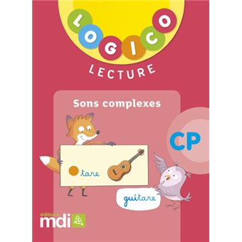 Pochette Logico Lecture CP Cycle 2 Sons complexes