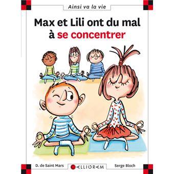 Max et LiliMax et Lili ont du mal à se concentrer