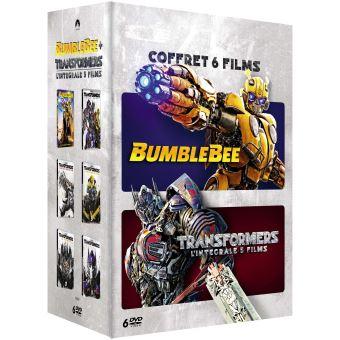 TransformersCoffret Transformers L'intégrale des 5 films et Bumblebee DVD