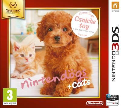 Nintendogs + Cats Caniche Toy 3DS