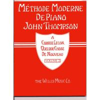 Méthode moderne de piano John Thompson