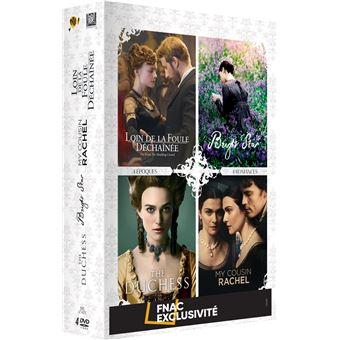Coffret Loin de la foule déchainée The Duchess Bright Star My Cousin Rachel Edition Fnac DVD