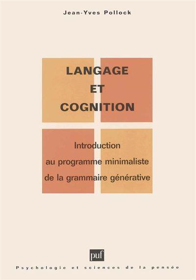 Langage et cognition