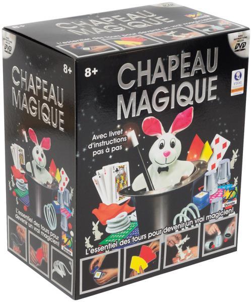 Chapeau Magique + DVD France Cartes