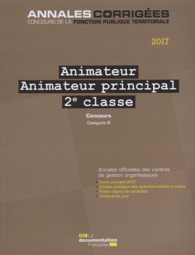 Animateur, Animateur principal de 2ème classe