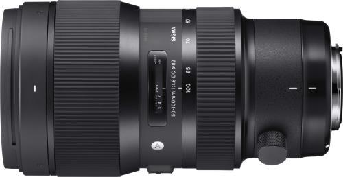 Objectif reflex Sigma 50 100 mm f18 DC HSM Art Monture Nikon