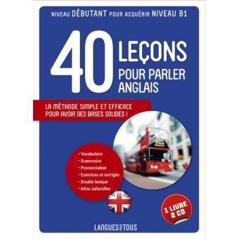 Coffret 40 Lecons Pour Parler L Anglais Livre 2 Cd