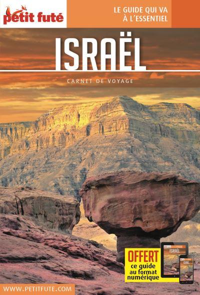 Israël 2018 carnet petit fute + offre num