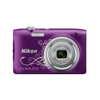 Compact Nikon Camera FND Coolpix A100Á Violet Lineart