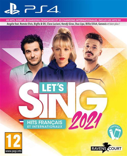 Let's Sing 2021 : Hits Français et Internationaux Solo PS4