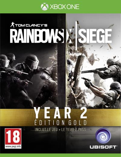 Tom Clancys Rainbow Six Siege: Year 2 Edition Gold Xbox One