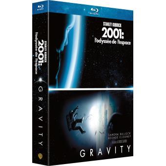 Gravity + 2001, l'odyssée de l'espace Coffret Blu-Ray