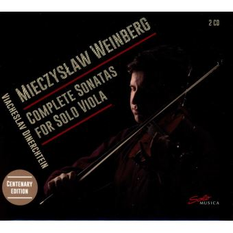 Complete sonatas for solo viola
