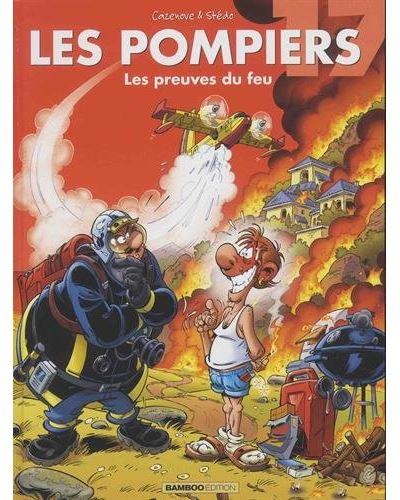 Les pompiers - Coffret avec un bêtisier des pompiers Tome 17 : Les pompiers starter pack betisier