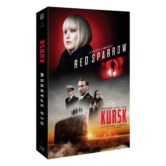Coffret Red Sparrow : Le Moineau Rouge et Kursk DVD