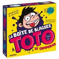 Boîte Quiz - La boîte de blagues Toto et compagnie