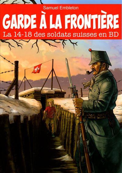 Le 14-18 des soldats suisses en BD