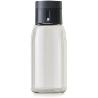 Joseph Joseph Dot Smart Bottle met stop 400 ml grijs