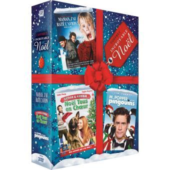 Coffret Incroyable Noël 3 Films DVD