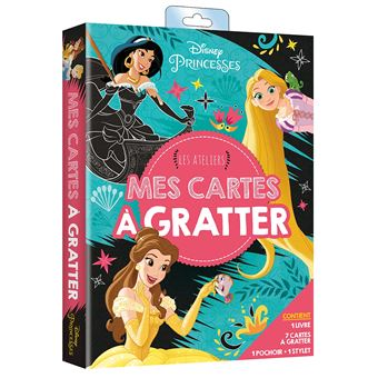 Disney PrincessesMes cartes à gratter