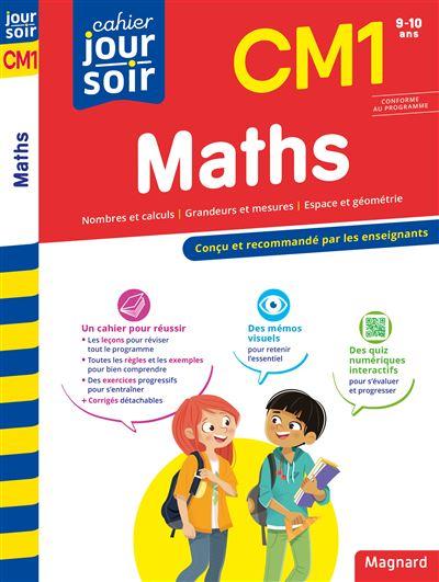 Cahier Du Jour Cahier Du Soir Maths Cm1 Broche Collectif Achat Livre Fnac