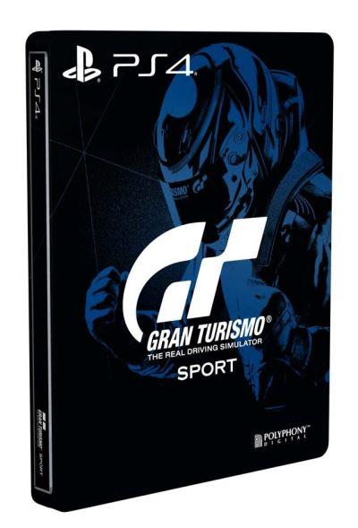Bonus de précommande Steelbook Gran Turismo Sport PS4