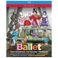 Ballets pour enfants/alice au pays/casse noisette
