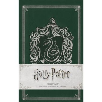 Harry PotterHarry potter mini carnet serpentard