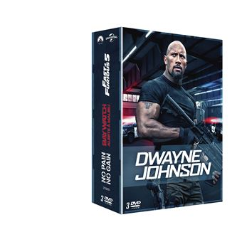 Coffret Dwayne Johnson 3 films DVD