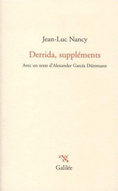 Derrida, suppléments