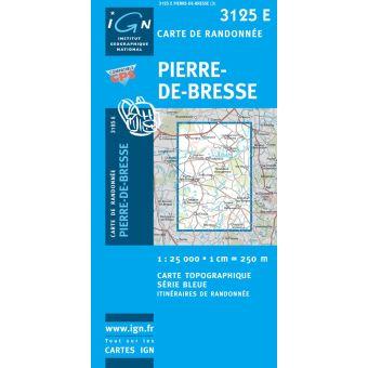 Pierre-de-bresse 1:25 000