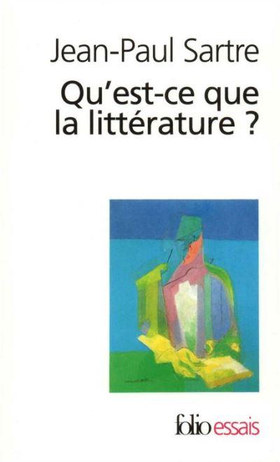 Qu'est-ce que la littérature ? - 9782072756948 - 8,99 €