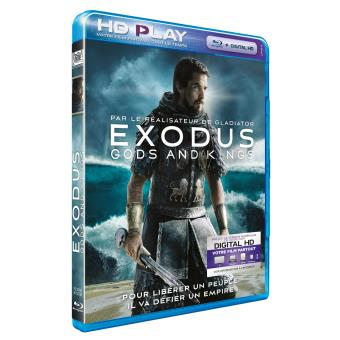 Exodus Gods and kings Blu-ray