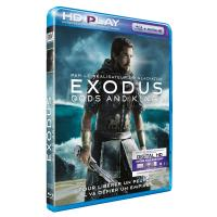 Exodus Gods and kings Blu-ray