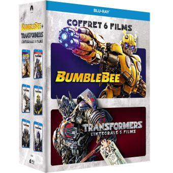 TransformersCoffret Transformers L'intégrale des 5 films et Bumblebee Blu-ray