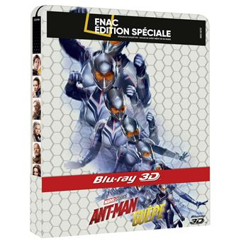 Ant-manANT-MAN & THE WASP-BIL-BLURAY STEELBOOK FNAC ED