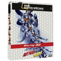Ant-Man et la Guêpe Edition Fnac Steelbook Blu-ray 3D