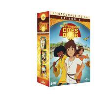 Coffret Les mystérieuses cités d'or Saison 3 DVD