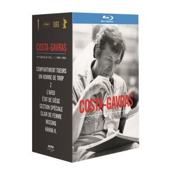 Costa Gavras L'intégrale Partie 1 Blu-ray