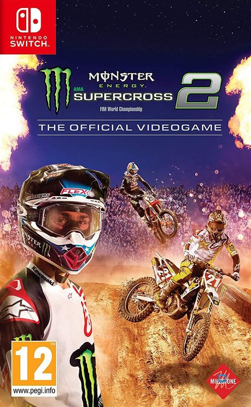 Monster Energy Supercross The Official Videogame 2 Nintendo Switch