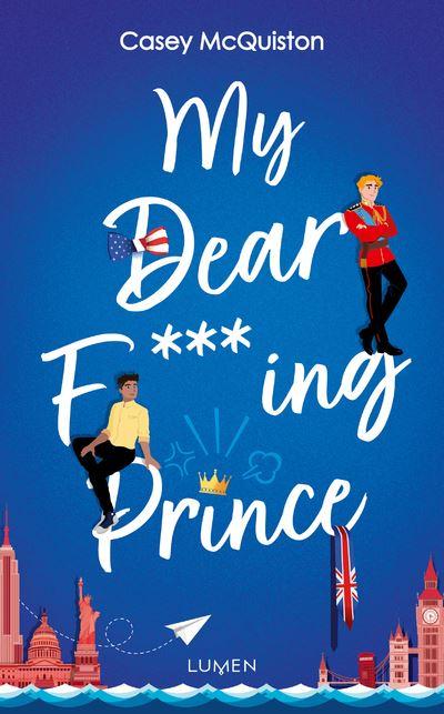 Les parutions en romance - Septembre 2021 My-Dear-F-ing-Prince